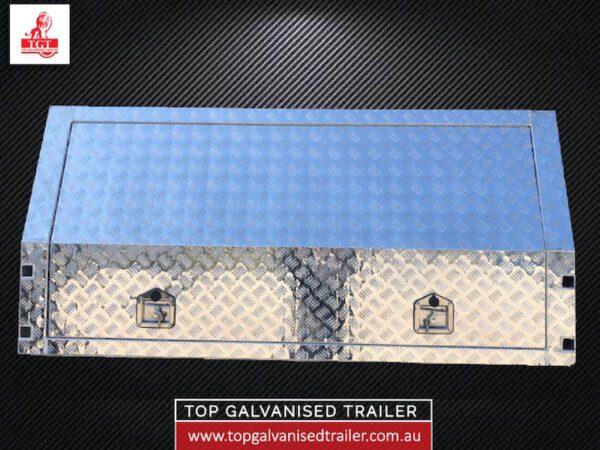 top galvanised trailer canopy