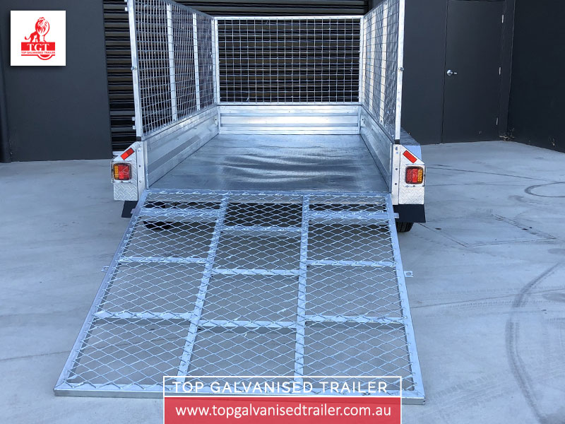 10X5 Trailer Ramps – Top Galvanised Trailer PTY LTD | Trailers For ...