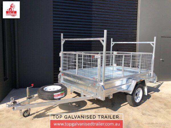 Top Galvanised Trailer 8x5
