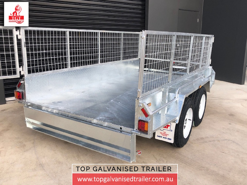 10x5 Fully Welded Box Trailer