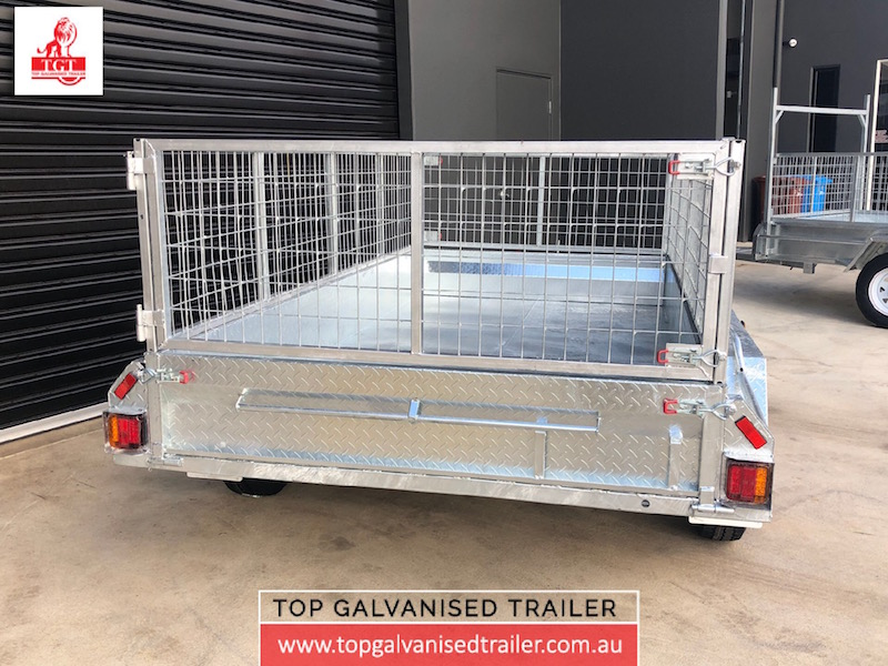 10x5 Fully Welded Box Trailer2