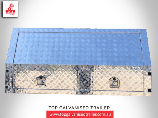 Top Galvanised Trailer