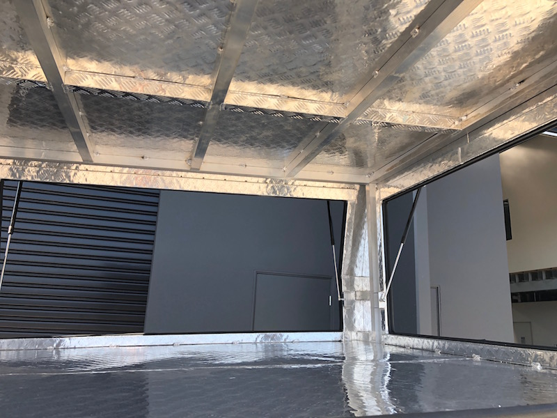 Ute Canopy Aluminium