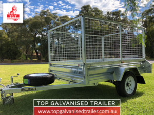 Top-Galvanised-Trailer-7x5-Single-Axle-Trailer-Featured-Image-#01