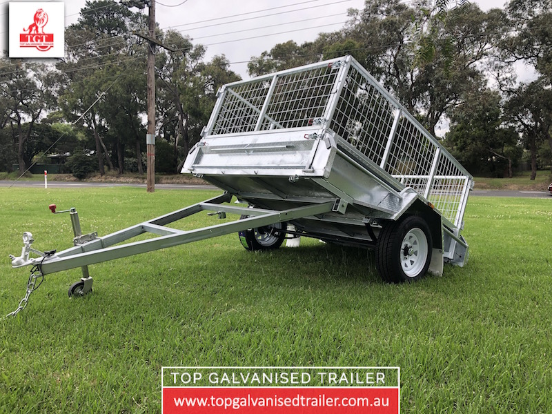 hot dip galvanised trailer
