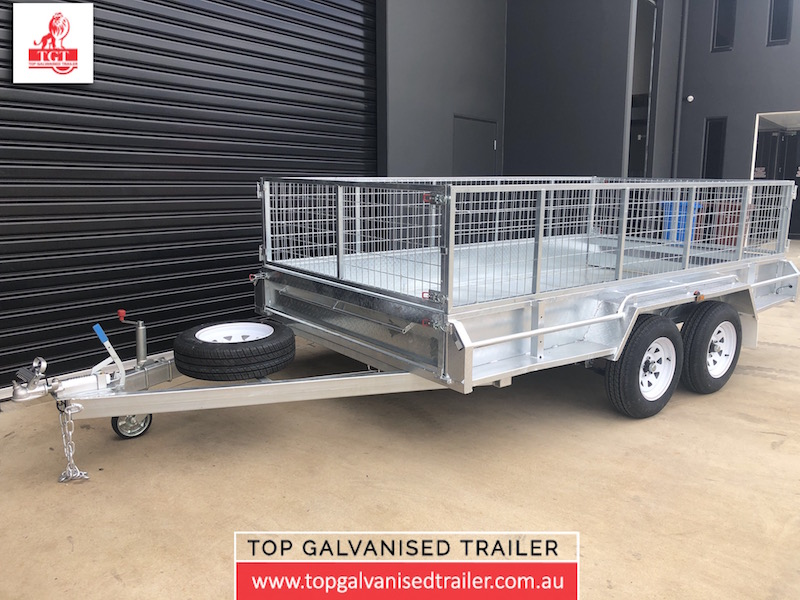 top galvanised trailer