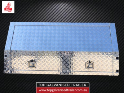 top galvanised trailer canopy