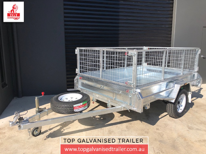 8x5 single box trailer