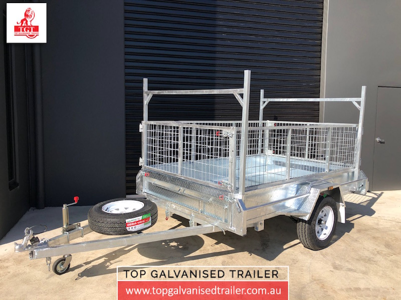 Top Galvanised Trailer 8x5