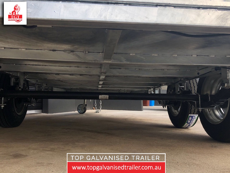 10x5 Box Trailer Fully welded