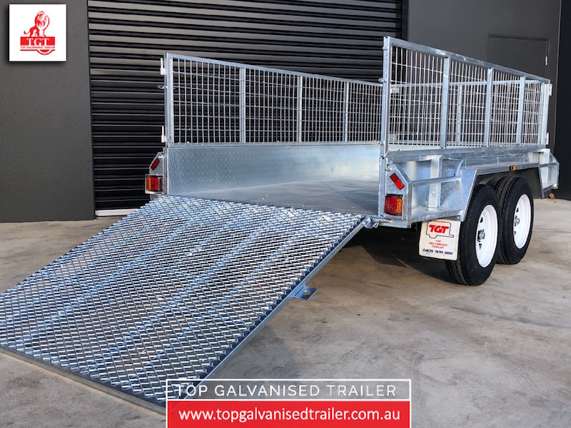 10x5 Ramp Box Trailer