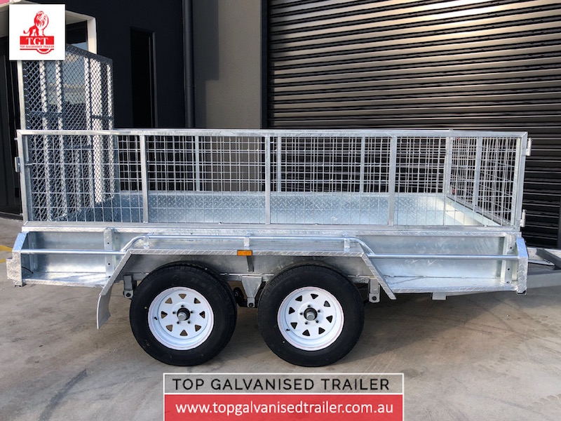 10x5 Ramp cage trailer