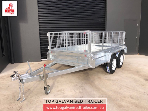 Tandem Trailers galvanised fully welded