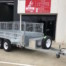 10x5 Galvanised Hydraulic Tipping Trailer 3500kg ATM 1