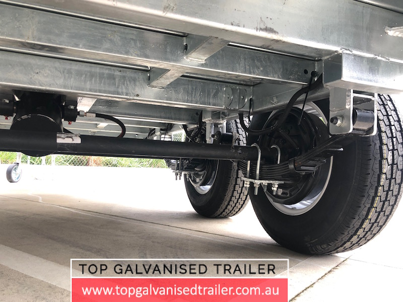 10x5 Galvanised Hydraulic Tipping Trailer 3500kg ATM5